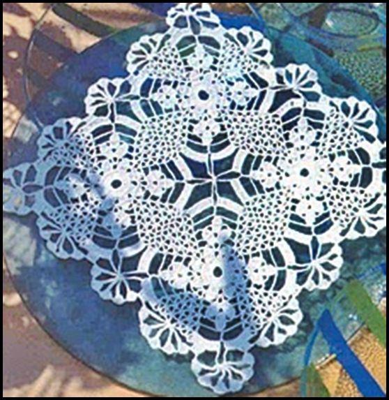 Tejidos a crochet ganchillo patrones manteles - Patrones tapetes ganchillo ...