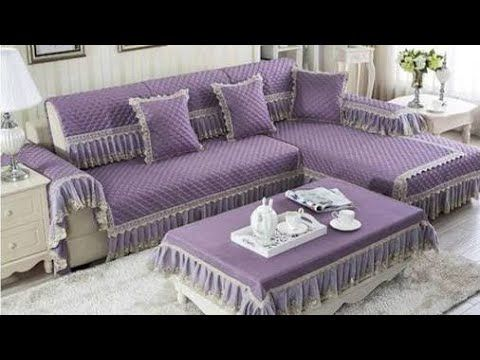 Top 100 Sofa Cover Designs Ideas 2019 Youtube Sofa Design Sofa Covers Simple Sofa