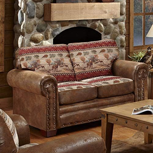 The American Furniture Classics Deer Valley Love Seat Online