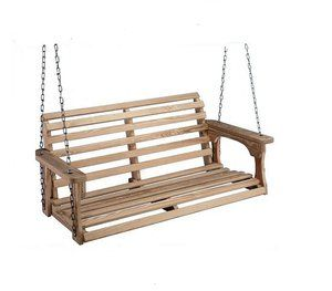 How To Wrap A Porch Swing Chain With Rope Porch Swing Hanging Porch Swing Porch Swing With Canopy