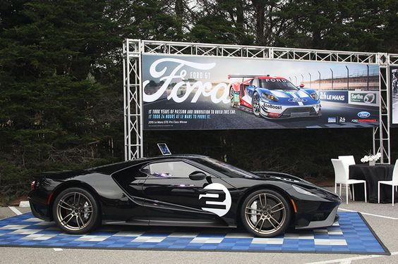 Motor'n | VINTAGE FORD GT CARS CRUISE INTO PEBBLE BEACH