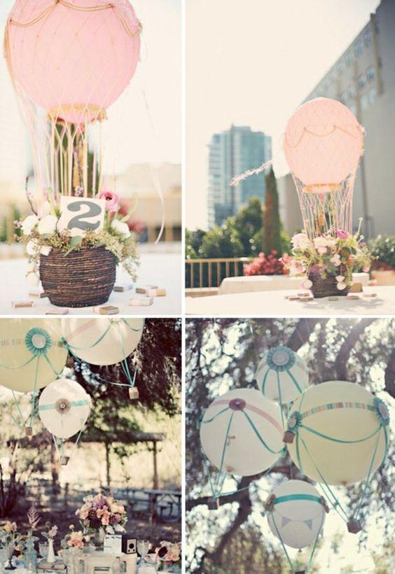 Idée cool pour la décoration de table mariage