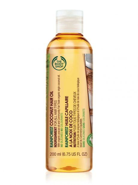 Rainforest Coconut Hair Oil, The Body Shop