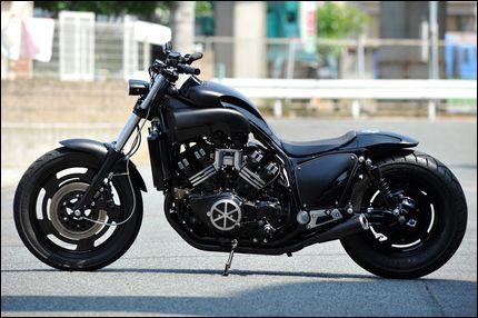 KID CUSTOM FACTORY / ヤマハ V-MAX プロが造るカスタム 【STREET-RIDE】ストリートバイク ウェブマガジン