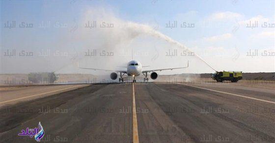 مطارا برج العرب وسوهاج الدوليان يستقبلان أولى رحلات شركة طيران العربية صور San Sar