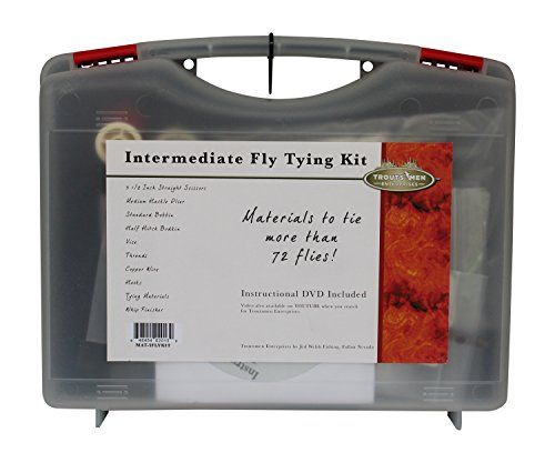 Jed Welsh Fishing Intermediate Fly Tying Kit -- Want to know more, click on the image.