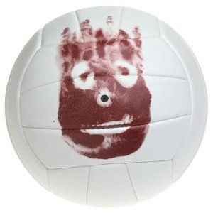 This is great! Amazon sells this Replica of WILSON! The only problem is that I could NEVER, EVER spike this ball!