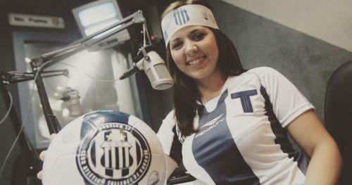 Geo Monteagudo será la #VozDelEstadioFemenina en el #Talleres -...  Geo Monteagudo será la #VozDelEstadioFemenina en el #Talleres - Instituto.