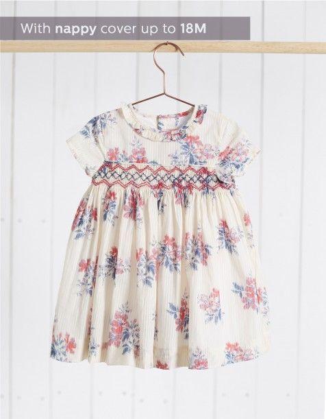 NECK & NECK | LITTLE GIRL FLORAL SMOCKED DRESS - Dresses - GIRL