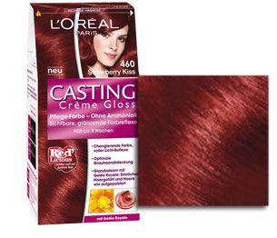 coloration casting crme gloss 460 strawberry kiss - Casting Coloration