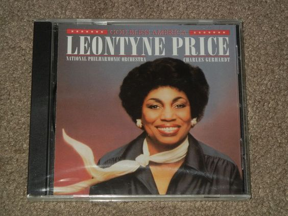 LEONTYNE PRICE God Bless America (CD,Music,Classical,Female,Vocals,RCA,2001)  #PhilharmonicOrchestra