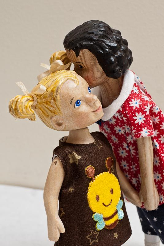 TCV Dolls~~Wood dolls