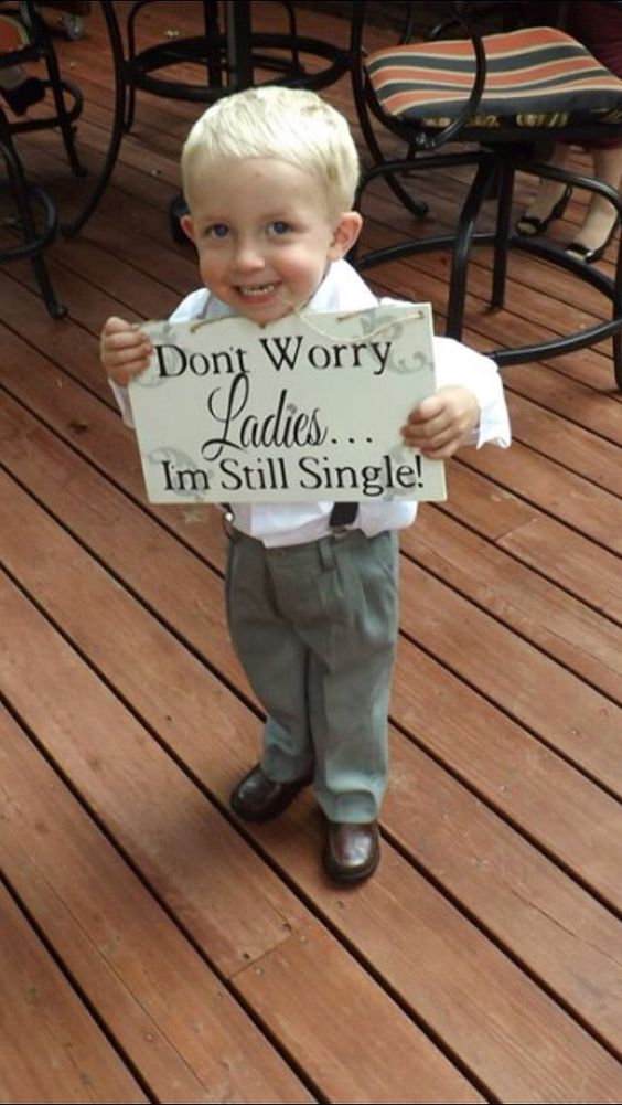 Ring Bearer Sign: