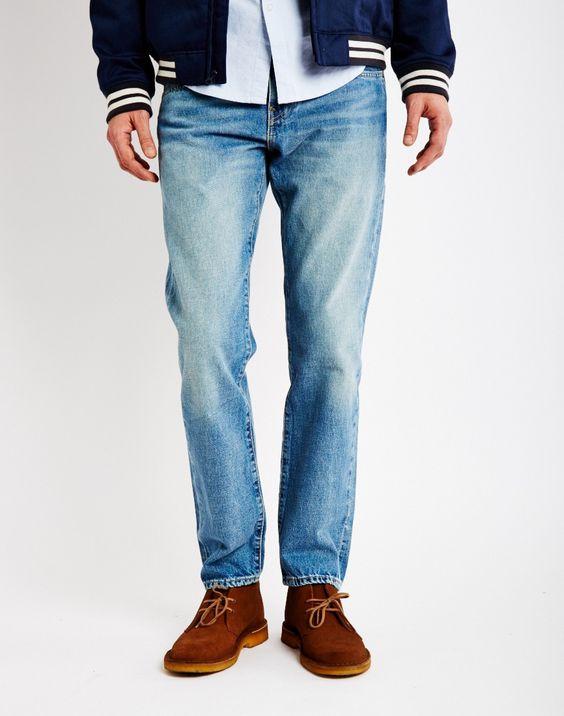 Levi's 511 Quicksand Slim Fit Jeans Blue | Shop men's jeans at The ...