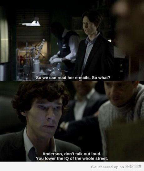 BBC Sherlock...