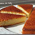 Gâteau aux blancs d'oeufs parfumé au Citron Vanille et Amande (rien que ça !) - LA CUISINE DE NELLY