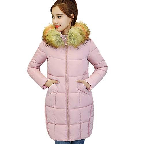 YUNY Womens Winter Coat Outwear Hooded Slim Fitted Puffer Jacket Yellow M