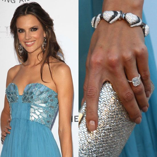 Alessandra Ambrosio's Engagement Ring