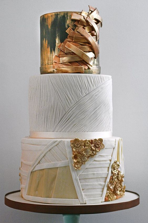 Absolutely Love These Wedding Cake Ideas - Cake: Olofson Design;