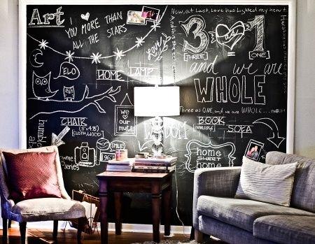 DIY ART | faça você mesmo a arte da sua casa, desenhando em paredes de tinta…