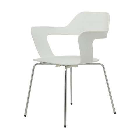Mu Stuhl Stuhle Weisse Stuhle Stahlgestelle