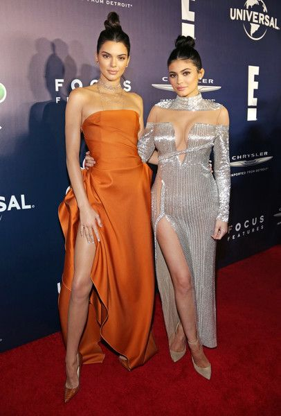 Kendall and Kylie Jenner attend NBCUniversal's 74th Annual Golden Globes After Party.