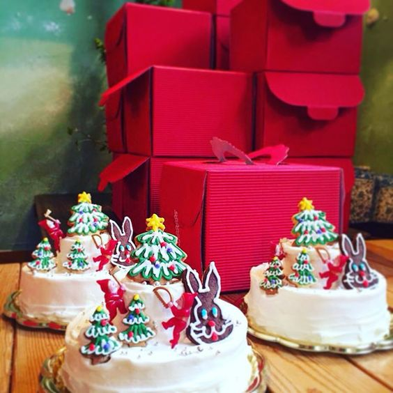 christmas cake by pipipi