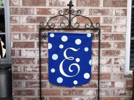 Custom+Designed+Monogrammed+Outdoor+Garden+Flag+by+DaisyBeeDesigns, :)