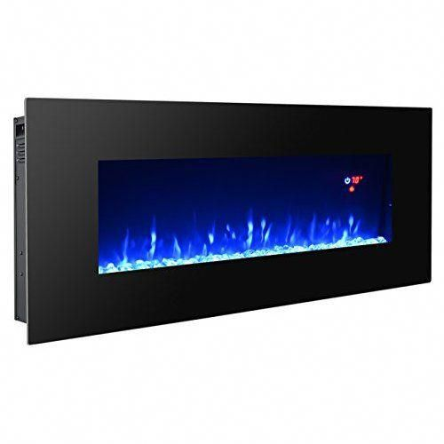3g Plus 40 Electric Fireplace Wall Mounted Heater Crystal Stone