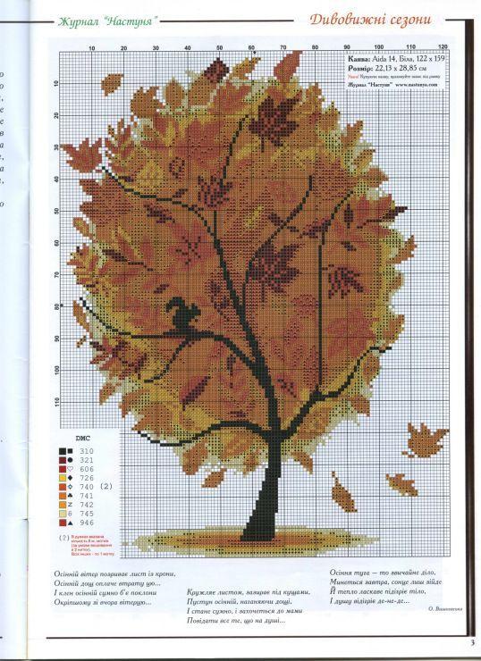 Arbol de otoño.