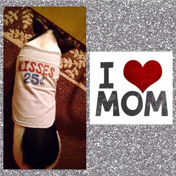 I Love Mom T-Shirt by SnortLife on Etsy