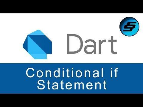 كيف تستخدم وتكتب الجملة الشرطية إذا If Statement في لغة دارت رdart Dart If Statements جملة الشرط إذا في لغة دارت Statement Gaming Logos Logos