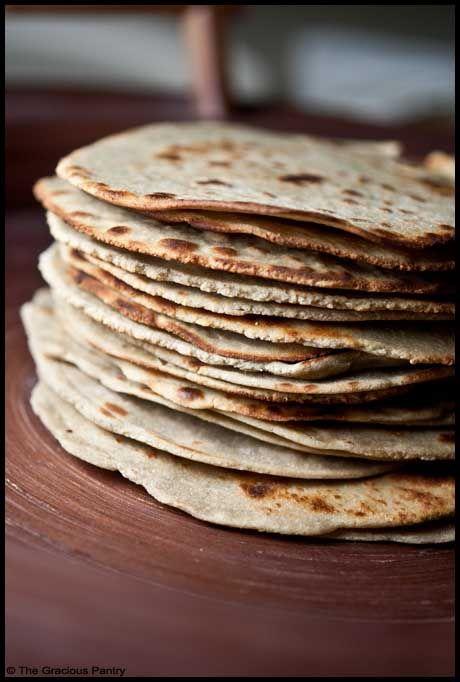 Quinoa tortillas