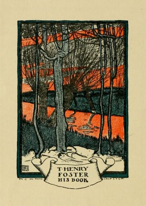 Ex libris of T. Henry Foster