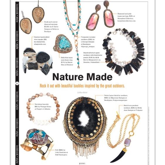 ♡♡♡ seeing our oosik and diamond earrings in this months Jezebel Magazine! #scarterdesigns #naturemade #jezebel #jezebelatlanta #jezebelmagazine #oosik #earrings #fossilized #modernluxury @rebeccaboutique