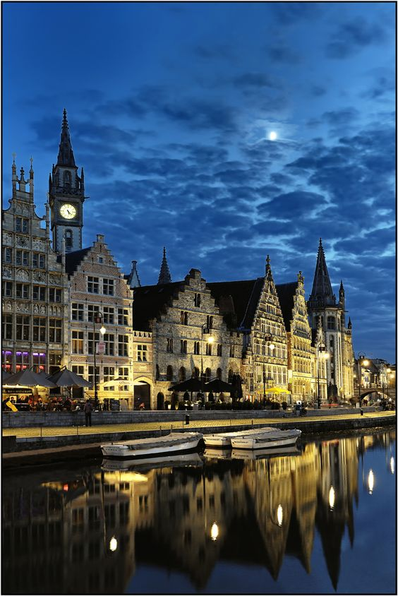 Ghent Dutch Gent French Gand Is A City And A Municipality Located In The Flemish Region