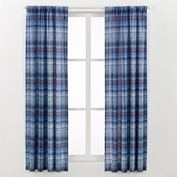 Disney's Mickey Mouse Curtain by Jumping Beans - 42'' x 63'', Blue ...