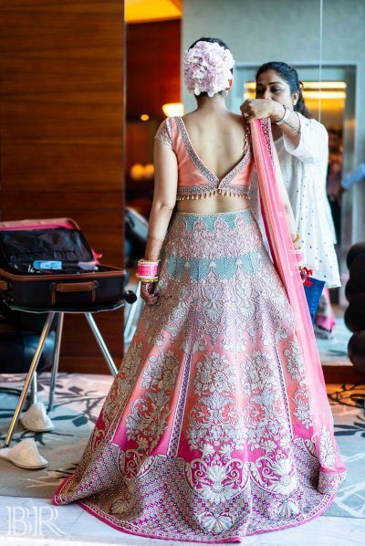 A Dreamy Beach Side Wedding With The Bride Groom In Gorgeous Pastel Colours Indian Bridal Fashion Indian Bridal Outfits Indian Wedding Dress,Womens Wedding Dresses Casual