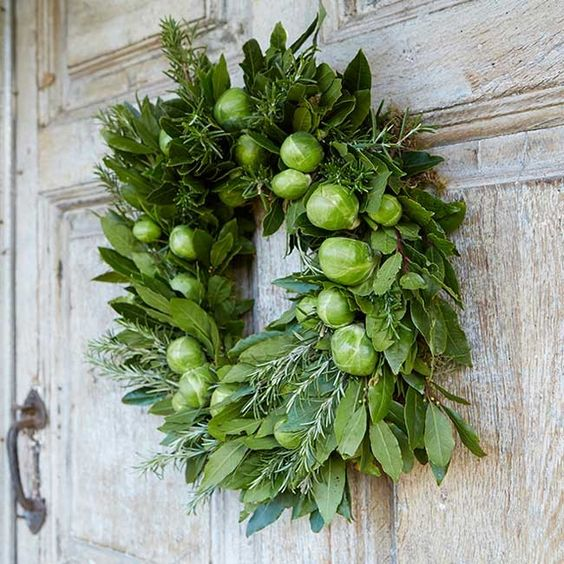 Sprout Door Wreath