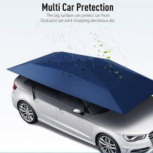 Reliancer Semi automatic Car Tent Movable Carport Folded