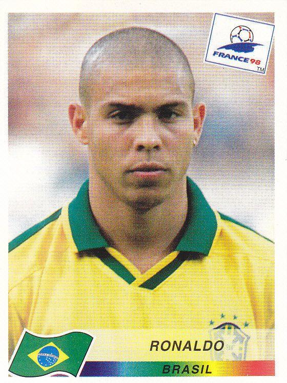 Ronaldo Brasile N.28 FRANCE 98 PANINI World Cup Panini 1998