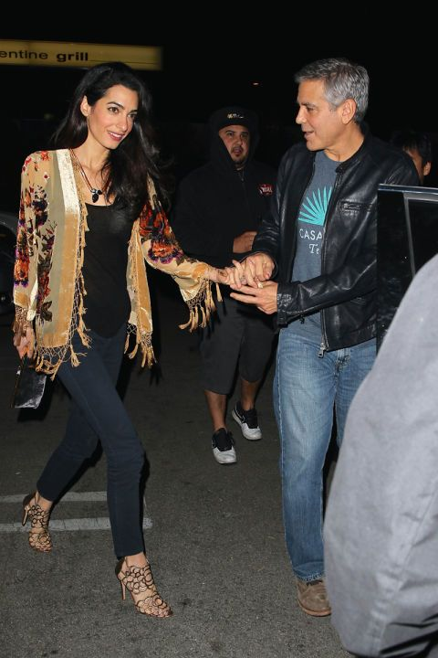 Amal Clooney Women´s Fashion Style Inspiration - Moda Feminina Estilo Inspiração - Look - Outfit