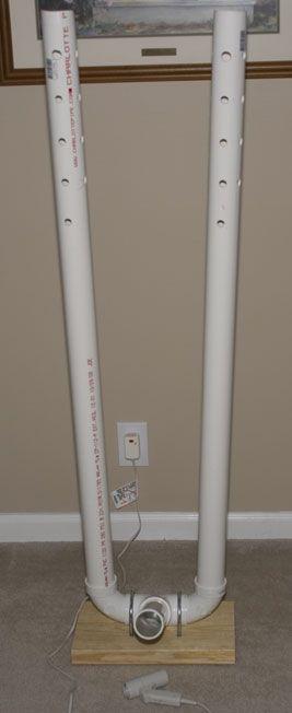 "3"" PVC wader dryer"