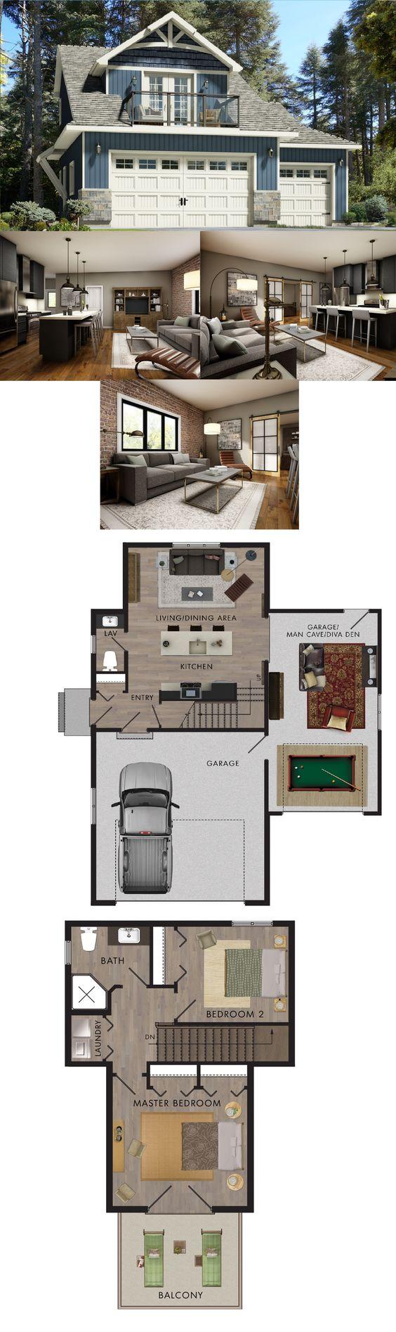 rv garage plans with living quarters apartment over garage designs