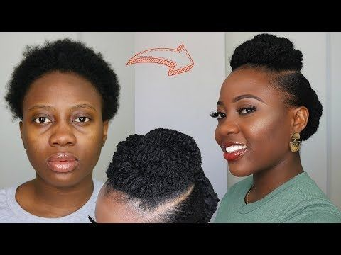 34 Simple Protective Style For Short 4c Natural Hair Tutorial Youtube Natural Hair Tutorials 4c Natural Hair Natural Hairstyles For Kids