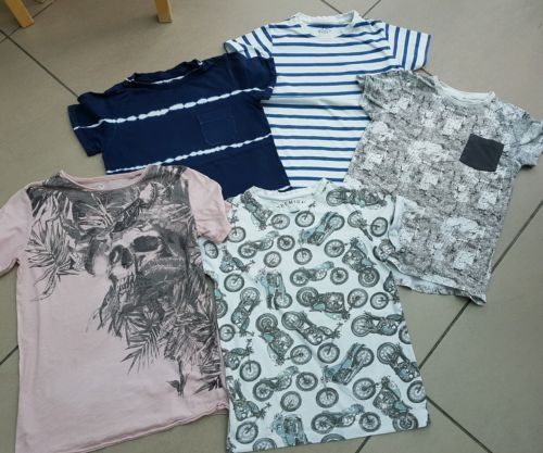 Boys NEXT & RIVER ISLAND t-shirt top bundle age 7 to 8 (all up to 128cm) https://t.co/whRDxhIdAG https://t.co/KXshjzLNIX