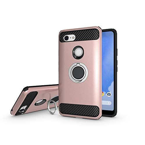 Dlseego Google Pixel 3 Xl Case Armor Dual Layer 2 In 1 And Finger