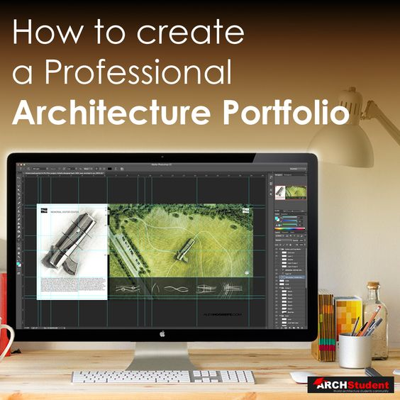 How to create an Architecture Portfolio Photoshop Architectural - Architecture Student Resume