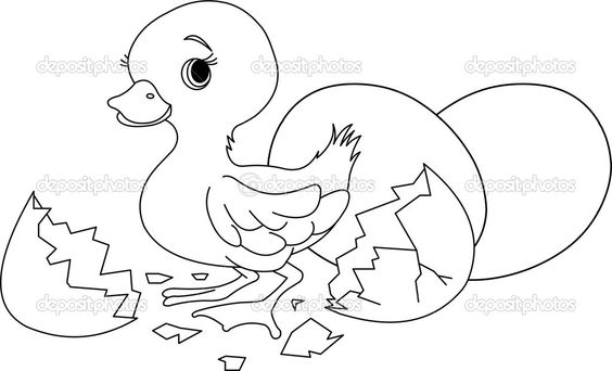 Easter Bunny Coloring Pages | Easter surprise. Coloring page — Stock Vector © Anna Velichkovsky ...