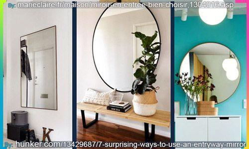 ديكورات مدخال بمرايا أنيقة Entrance Mirror Home Decor Decor